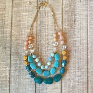 LOFT Outlet layered chunky necklace